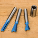 Rockler 4-Pc. Dovetail Router Bit Upgrade Set - 8mm Shank