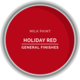 GF Milk Paint, Holiday Red, Pint