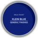 GF Milk Paint, Klein Blue, Pint