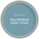 GF Milk Paint, Halcyon Blue, Pint
