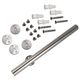 78'' Track for Stainless Steel Rolling Barn Door Kits