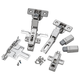 Salice Soft-Close 110° 3/8'' Rabbeted Door Hinges, Face Frame