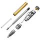 Gearshift Pen Hardware Kit, Chrome