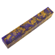 Purple/Gold Elegance Inlace Acrylester Pen Blank