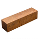 Brown Mallee Burl Turning Blank, 1-1/2'' x 1-1/2'' x 6''