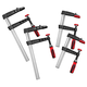 Bessey TG Series Bar Clamp Combo Pack, (2) 8'' Clamps + (2) 16'' Clamps