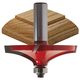 Freud® 99-027 Round Over Table Edge and Handrail Router Bit - 2-19/32