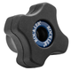 Rockler Easy-to-Grip 4-Star Knobs, Female Threading
