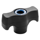 Rockler Easy-to-Grip T-Knobs, Female Threading