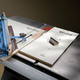 Rockler CrossCut Sled Drop-Off Platform