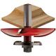 Freud® 99-569 Quadra-Cut™ Cove Raised Panel with Back Cutters Router Bit - 3-1/2