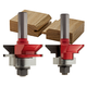 Freud® 99-191 V Panel Router Bit Set - 1-11/64