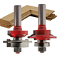 Freud® 99-286 Glass Panel Cabinet Door Router Bit Set - 2