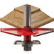 Freud® 99-566 Quadra-Cut™ Bevel Raised Panel with Back Cutters Router Bit - 3-1/2