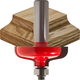 Freud® 99-063 No Lip Door Edge Router Bit - 1-3/4