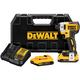 DeWalt 20V MAX XR 1/4'' 3-Speed Impact Driver Kit, 2.0Ah