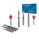 Freud #87-208 8-Piece General-Purpose CNC Router Bit Set, 1/4'' Shank with FREE $50 Gift Card