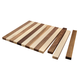 Hardwood Cutting Board Kit, 19-1/2''W x 16''L x 3/4'' Thick