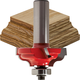 Freud® 99-003 Quadra-Cut™ Ogee Double Fillet Router Bit - 1-3/8
