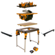 Triton WorkCentre Package with Router Table and Contractor Saw with Free Accessories
