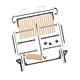 I-Semble Horizontal-Mount Murphy Bed Hardware Kits with Mattress Platforms