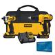 DeWalt DCK240C2 20V MAX Li-Ion Drill Driver/Impact Driver Combo Kit, 1.3Ah with FREE $50 Gift Card