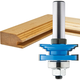 Rockler Classical Reversible Rail & Stile Router Bit - 1-5/8