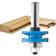 Rockler Chamfer Reversible Rail & Stile Router Bit - 1-5/8