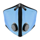 M2 Mesh Face Masks, Sky Blue