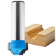 Rockler Classical Miniature Roman Ogee Plunge Router Bit - 3/4