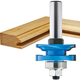 Rockler Ogee Reversible Rail & Stile Router Bit - 1-5/8