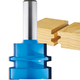 Rockler Wedge Tongue and Groove Router Bit - 1-1/2