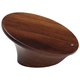 Walnut Leaning knob,16mm CTC
