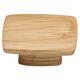 Oak Rectangular Knob,16mm CTC