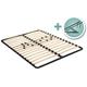 I-Semble® Platform Bed Lift Mechanisms with Mattress Platforms and Wooden Slats