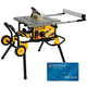 DeWalt DWE7491RS 10'' Jobsite Table Saw with Rolling Stand With Free $200 Gift Card