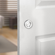 I-Semble Rolling Barn Door Knob, Stainless Steel