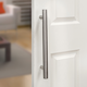 I-Semble Rolling Barn Door Handle, Stainless Steel