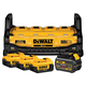DeWalt DCB1800M3T1 Portable Power Charging Station with (3) 4.0 Ah and (1) 6.0 Ah Batteries
