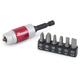 Magnetic Bit Holder with 7-Piece Driver Bit Set