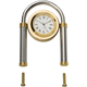 Solid Brass and Chrome Desk Clock Kit