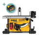 DeWalt DCS7485T1 FLEXVOLT® 60V MAX 8-1/4'' Cordless Table Saw Kit with Extra 9.0 Ah Battery
