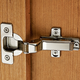 Salice® Push Frameless Self-Opening Inset Door Hinge