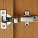 Silentia® Frameless Soft-Closing Concealed Inset Hinges