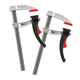 Bessey 8'' KliKlamp® Light-Duty Lever Clamps, 2-Pack