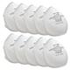 SoftSeal N-95 Respirator Face Masks, 10-Pack