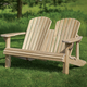 Adirondack Bench Templates with Plan and Stainless Steel Hardware Pack