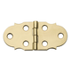 Ornamental Solid Brass Miniature Hinge - Style C