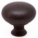 Berenson American Revival Knob, Round, 1620-1RBG-B - Bronze w/Rust Glaze Finish