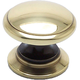 Polished Antique Brass Andante Knob